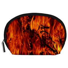 Fire Easter Easter Fire Flame Accessory Pouches (large)
