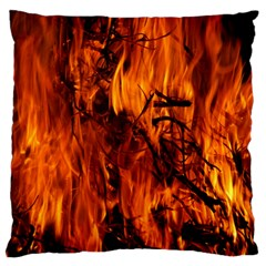 Fire Easter Easter Fire Flame Standard Flano Cushion Case (One Side)