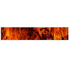 Fire Easter Easter Fire Flame Flano Scarf (large)