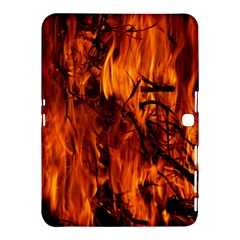Fire Easter Easter Fire Flame Samsung Galaxy Tab 4 (10.1 ) Hardshell Case