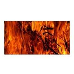 Fire Easter Easter Fire Flame Satin Wrap