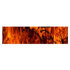 Fire Easter Easter Fire Flame Satin Scarf (Oblong)