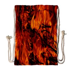 Fire Easter Easter Fire Flame Drawstring Bag (large)