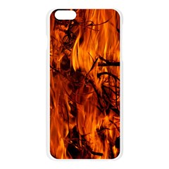 Fire Easter Easter Fire Flame Apple Seamless iPhone 6 Plus/6S Plus Case (Transparent)