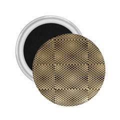 Fashion Style Glass Pattern 2 25  Magnets