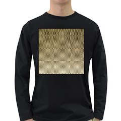 Fashion Style Glass Pattern Long Sleeve Dark T-Shirts