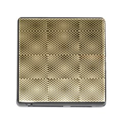 Fashion Style Glass Pattern Memory Card Reader (Square)