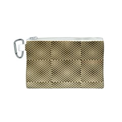 Fashion Style Glass Pattern Canvas Cosmetic Bag (S)