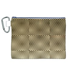 Fashion Style Glass Pattern Canvas Cosmetic Bag (XL)