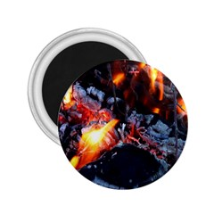 Fire Embers Flame Heat Flames Hot 2.25  Magnets