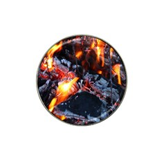Fire Embers Flame Heat Flames Hot Hat Clip Ball Marker (10 pack)