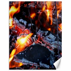 Fire Embers Flame Heat Flames Hot Canvas 12  x 16