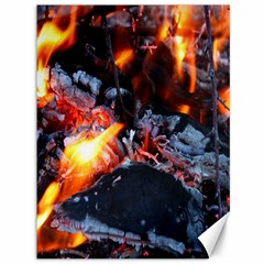 Fire Embers Flame Heat Flames Hot Canvas 36  x 48