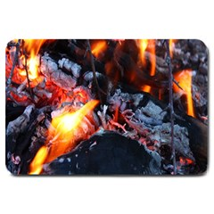 Fire Embers Flame Heat Flames Hot Large Doormat