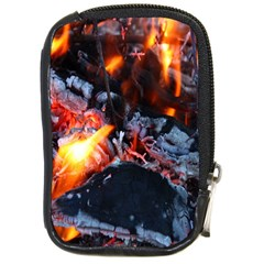 Fire Embers Flame Heat Flames Hot Compact Camera Cases