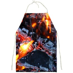 Fire Embers Flame Heat Flames Hot Full Print Aprons