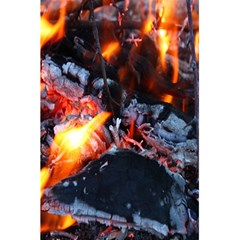 Fire Embers Flame Heat Flames Hot 5.5  x 8.5  Notebooks