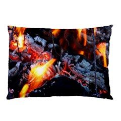 Fire Embers Flame Heat Flames Hot Pillow Case (Two Sides)