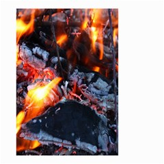 Fire Embers Flame Heat Flames Hot Small Garden Flag (Two Sides)