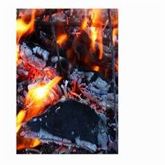 Fire Embers Flame Heat Flames Hot Large Garden Flag (Two Sides)