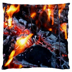 Fire Embers Flame Heat Flames Hot Large Cushion Case (One Side)