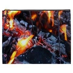 Fire Embers Flame Heat Flames Hot Cosmetic Bag (xxxl)