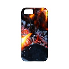 Fire Embers Flame Heat Flames Hot Apple iPhone 5 Classic Hardshell Case (PC+Silicone)