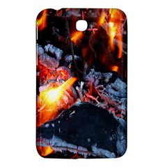 Fire Embers Flame Heat Flames Hot Samsung Galaxy Tab 3 (7 ) P3200 Hardshell Case