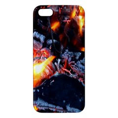 Fire Embers Flame Heat Flames Hot iPhone 5S/ SE Premium Hardshell Case