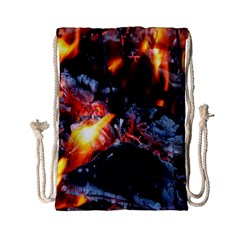 Fire Embers Flame Heat Flames Hot Drawstring Bag (Small)