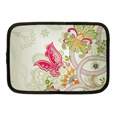 Floral Pattern Background Netbook Case (Medium)