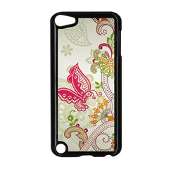Floral Pattern Background Apple iPod Touch 5 Case (Black)