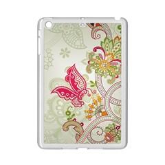 Floral Pattern Background Ipad Mini 2 Enamel Coated Cases