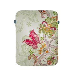 Floral Pattern Background Apple Ipad 2/3/4 Protective Soft Cases
