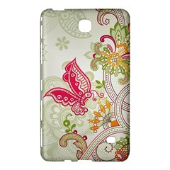 Floral Pattern Background Samsung Galaxy Tab 4 (7 ) Hardshell Case