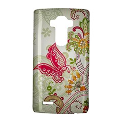 Floral Pattern Background LG G4 Hardshell Case