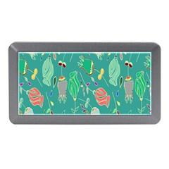 Floral Elegant Background Memory Card Reader (mini)