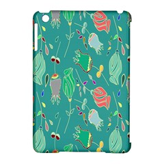 Floral Elegant Background Apple Ipad Mini Hardshell Case (compatible With Smart Cover)