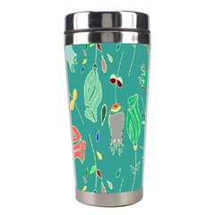 Floral Elegant Background Stainless Steel Travel Tumblers