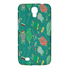 Floral Elegant Background Samsung Galaxy Mega 6 3  I9200 Hardshell Case