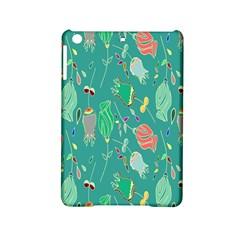 Floral Elegant Background Ipad Mini 2 Hardshell Cases