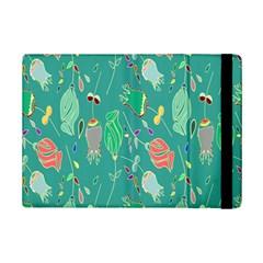 Floral Elegant Background iPad Mini 2 Flip Cases