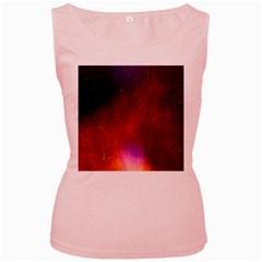 Fire Radio Spark Fire Geiss Women s Pink Tank Top