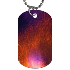 Fire Radio Spark Fire Geiss Dog Tag (One Side)