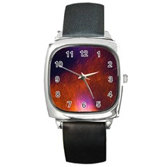 Fire Radio Spark Fire Geiss Square Metal Watch
