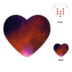 Fire Radio Spark Fire Geiss Playing Cards (Heart)