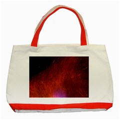 Fire Radio Spark Fire Geiss Classic Tote Bag (Red)