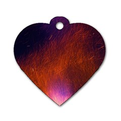 Fire Radio Spark Fire Geiss Dog Tag Heart (Two Sides)