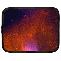 Fire Radio Spark Fire Geiss Netbook Case (Large)