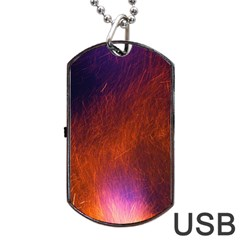Fire Radio Spark Fire Geiss Dog Tag USB Flash (Two Sides)